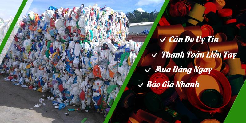 Thu mua phế liệu với giá cao ngất ngưỡng tại Quang Đạt tphcm - Phế liệu nhựa