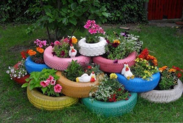 Hướng dẫn cách làm đồ chơi từ phế liệu rác tái chế - Lốp xe