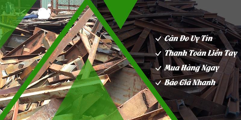 Mua phế liệu sắt vụn sắt thép công trình giá cao tại TPHCM | Quang Đạt