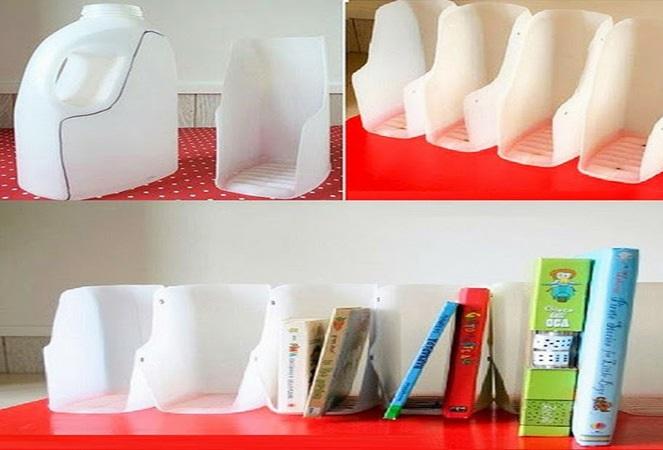 Tái chế nhựa thành kệ sách - Công ty Phế liệu Quang Đạt