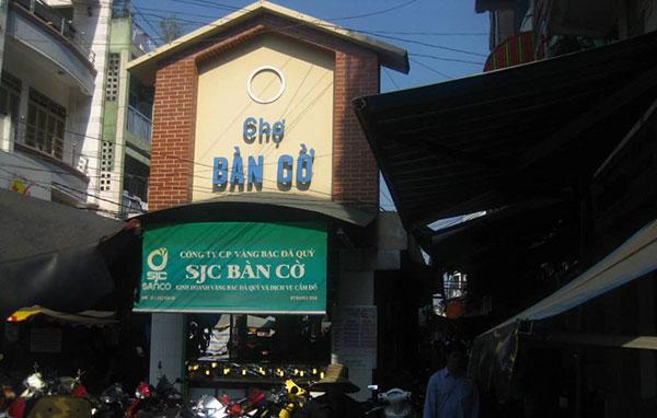Chợ Bàn Cờ - Công ty Phế liệu Quang Đạt