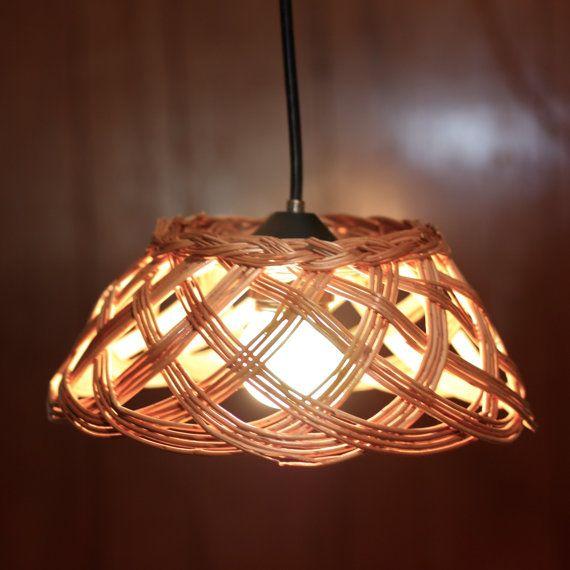 Tái chế giá trùm làm chiếc đèn treo trên trần - Công ty phế liệu Quang Đạt