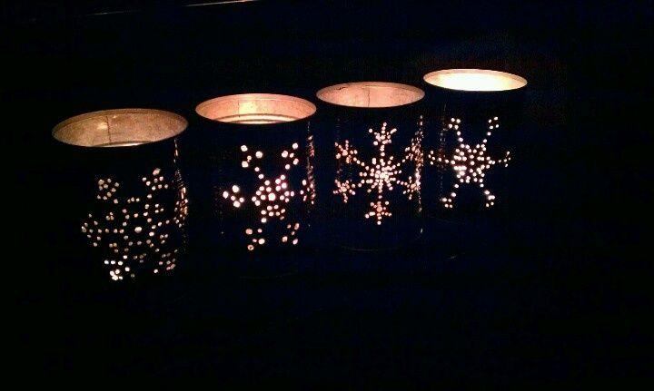 Tái chế lon thành lồng đèn - Công ty Phế liệu Quang Đạt