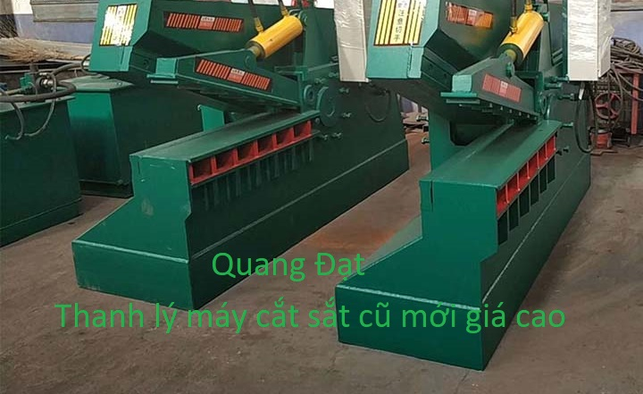 thanh ly may cat sat cong nghiep cu va moi gia cao Quang Dat