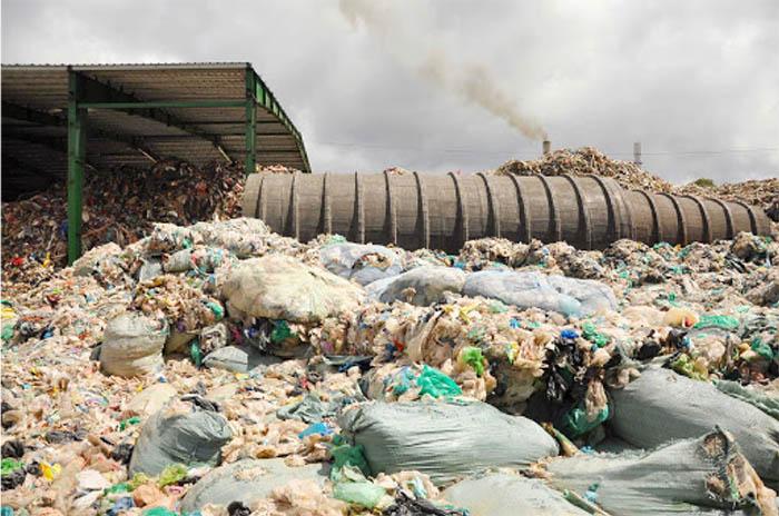 Giải quyết rác thải rắn