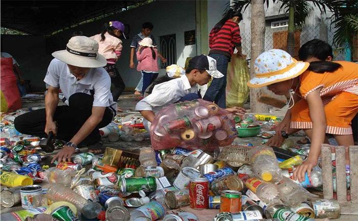 Nghề thu mua ve chai tại Việt NAm