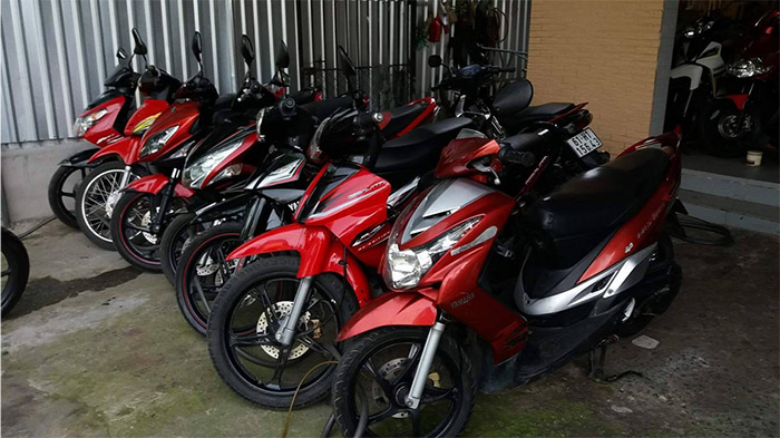 Nhận mua xe máy cũ