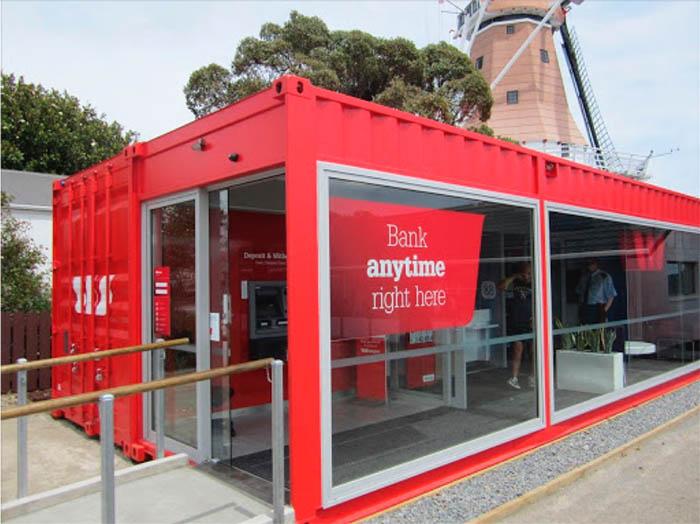Ý tưởng sáng tạo chỗ ở từ container