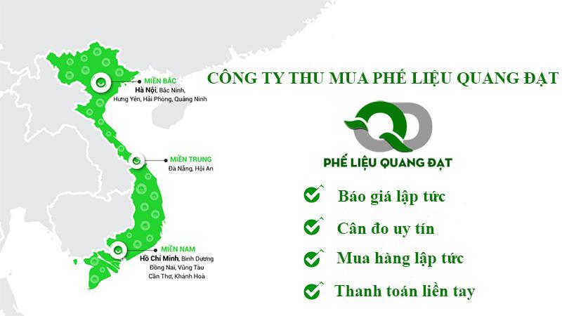 Quy mô thu mua phế liệu giá cao tại Quang Đạt